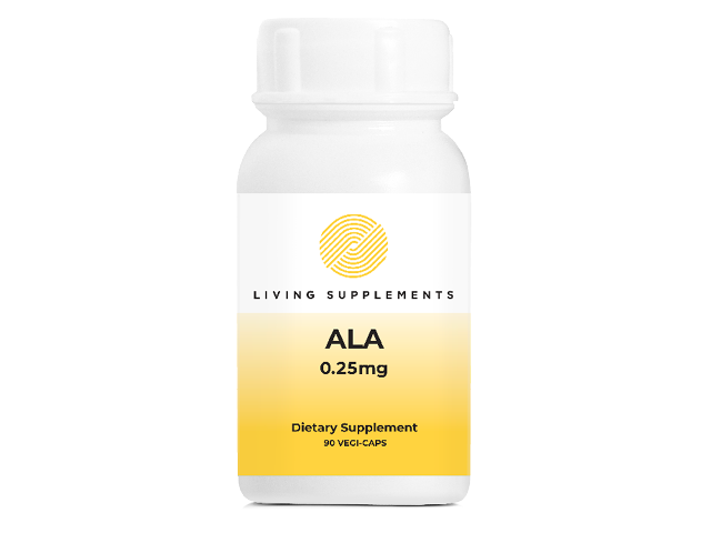 ALA 0.25mg [lowest dose]